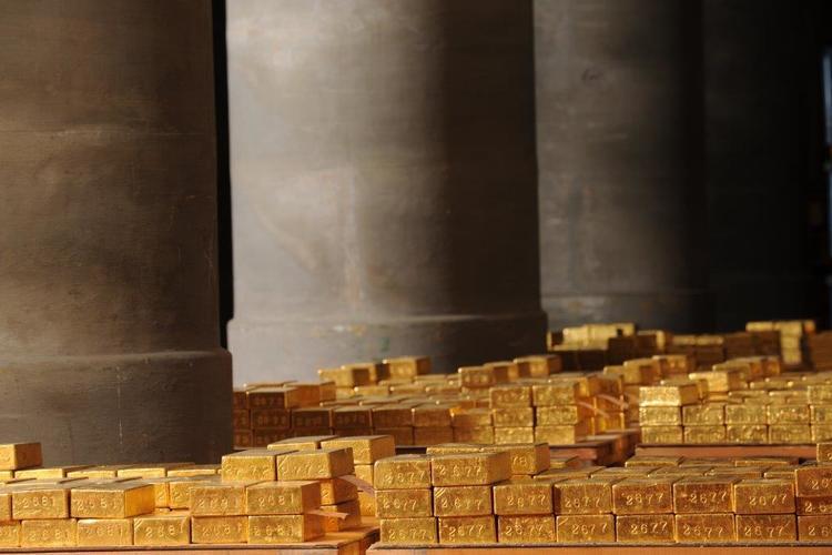 La gestion et la conservation de l'or par la Banque de France