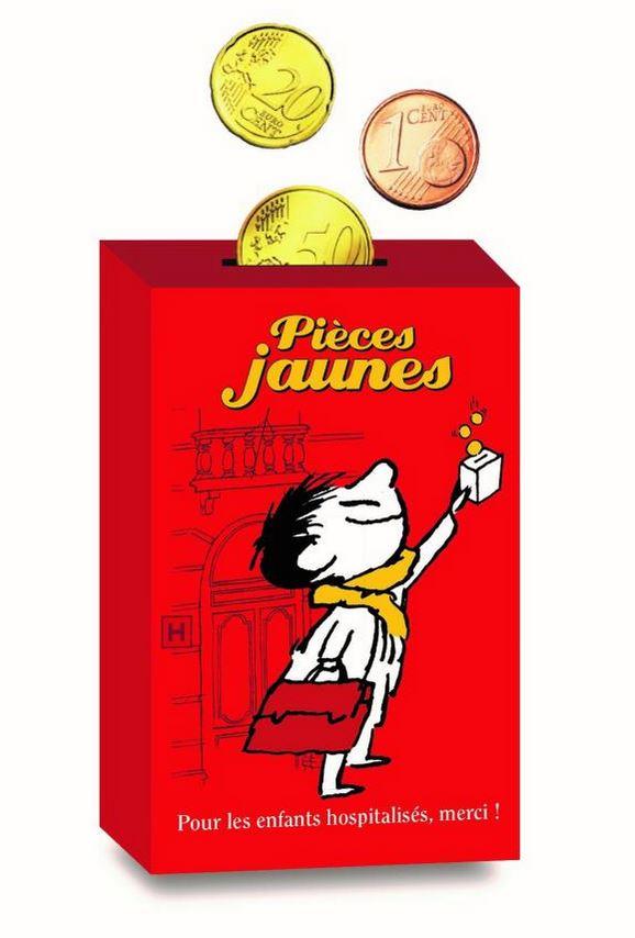 La Banque de France, partenaire de l'opération pièces jaunes